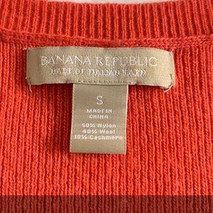 Banana Republic Sweaters - Banana Republic Coral Sweater S